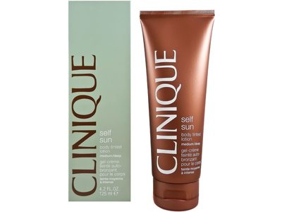 Clinique Self Sun Body Tinted Lotion, Medium/Deep, 4.2 fl oz/125 ml