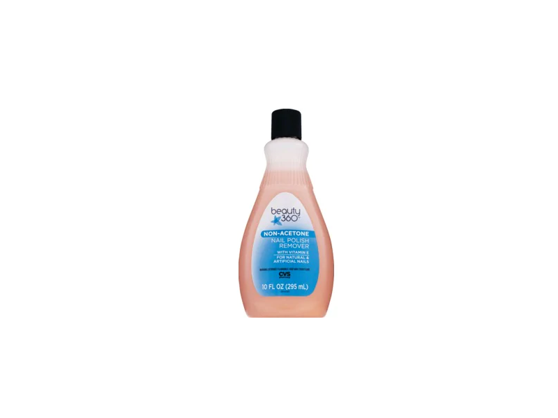 Beauty 360 Non-Acetone Nail Polish Remover, 10 fl oz Ingredients and ...