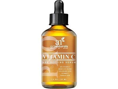 ArtNaturals Enhanced Vitamin C Serum with Hyaluronic Acid, 1 oz.