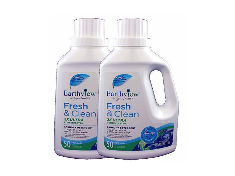 Earthview Laundry Detergent, Fragrance-Free, 50 oz