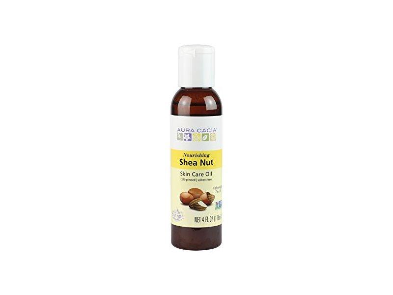 Aura Cacia Nourishing Shea Nut Oil | Multi-Purpose Nourishment Oil | 4 fl oz.