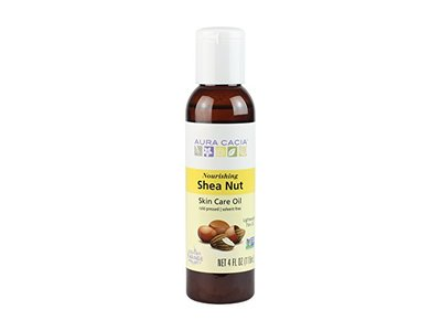 Aura Cacia Nourishing Shea Nut Oil | Multi-Purpose Nourishment Oil | 4 fl oz.