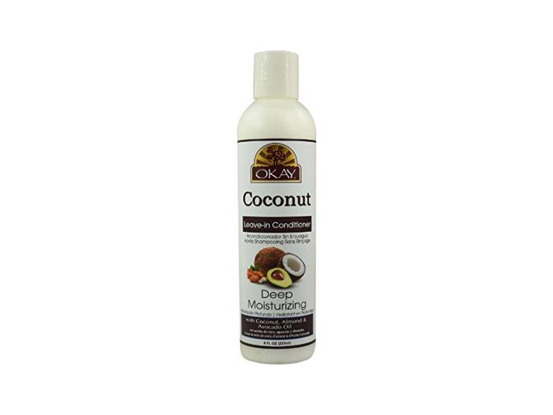 Okay Coconut Deep Moisturizing Leave-in Conditioner, 8 fl oz