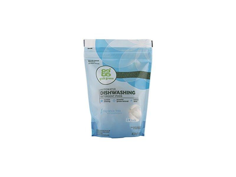 Grab Green Automatic Dishwashing Detergent, Fragrance Free, 24 loads