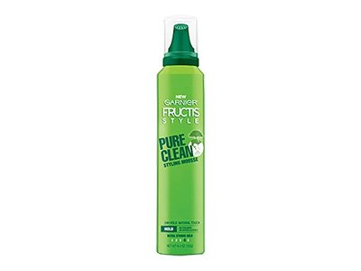 Garnier Fructis Pure Clean Styling Mousse, 6.4 Oz (Pack of 2) - Image 1