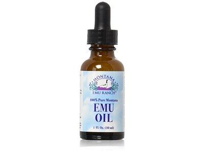 Montana Emu Ranch Co. 100% Pure Montana Emu Oil, 1 oz - Image 1