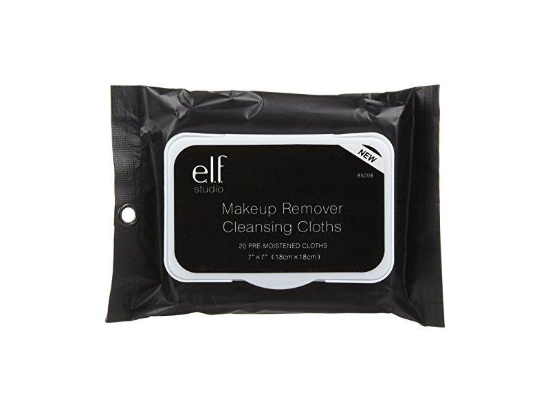 e.l.f. Studio Makeup Remover Cloths, 20 ct