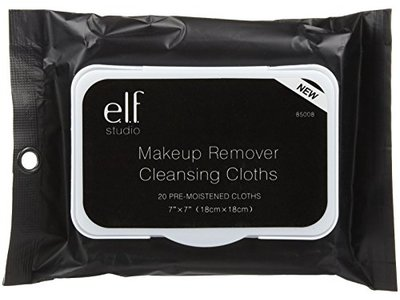 e.l.f. Studio Makeup Remover Cloths, 20 ct