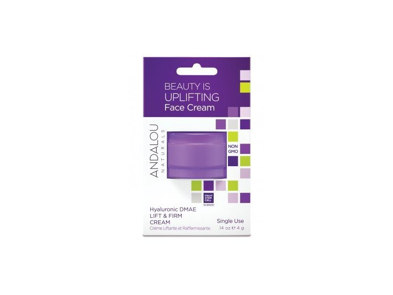 Andalou Naturals Beauty Is Uplifting Face Cream Pod, .14 oz