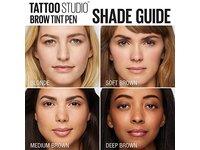 Maybelline TattooStudio Brow Tint Pen Makeup, Soft Brown, 0.037 fl. oz. - Image 7
