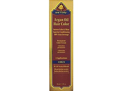 One 'n Only 11HLN High Lift Neutral Argan Oil Permanent Color Hair Cream, 11HLN Hi-Lift Neutral Blonde, 3 fl oz