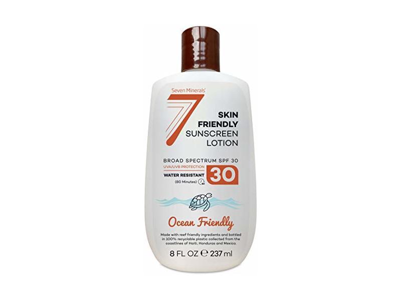Seven Minerals Non-Mineral Sunscreen SPF 30, 8 fl oz