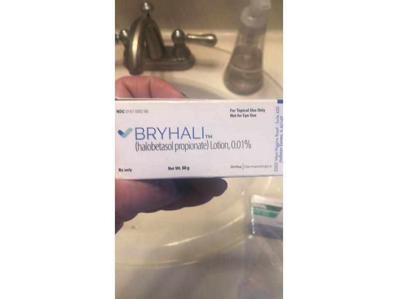 Bryhli (Halobetasol Propionate) Lotion 0.01% (RX), 60G Ortho Dermatological