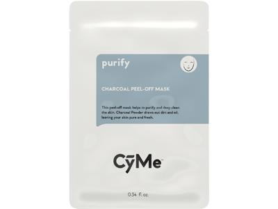 CyMe Charcoal Peel-Off Mask, 0.34 fl oz