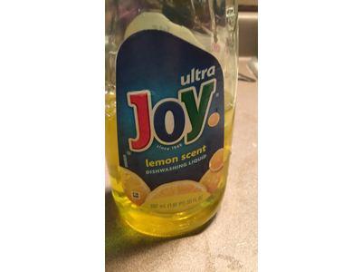 Joy Ultra Dishwashing Liquid, Lemon Scent, 30 fl oz - Image 4