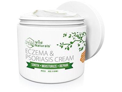 Wild Naturals Eczema & Psoriasis Cream, 4 oz