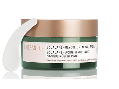Squalane + Glycolic Renewal Mask by biossance #17