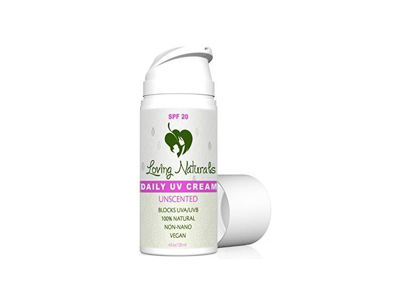 Loving Naturals Daily UV Cream, Unscented