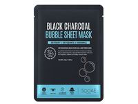 SooAE Black Charcoal Bubble Sheet Mask, 1 ct - Image 2
