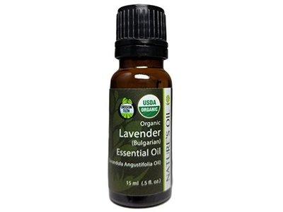 Nature's Oil Oregon Tilth Organic Lavender (Bulgarian) Essential Oil, .5 fl oz