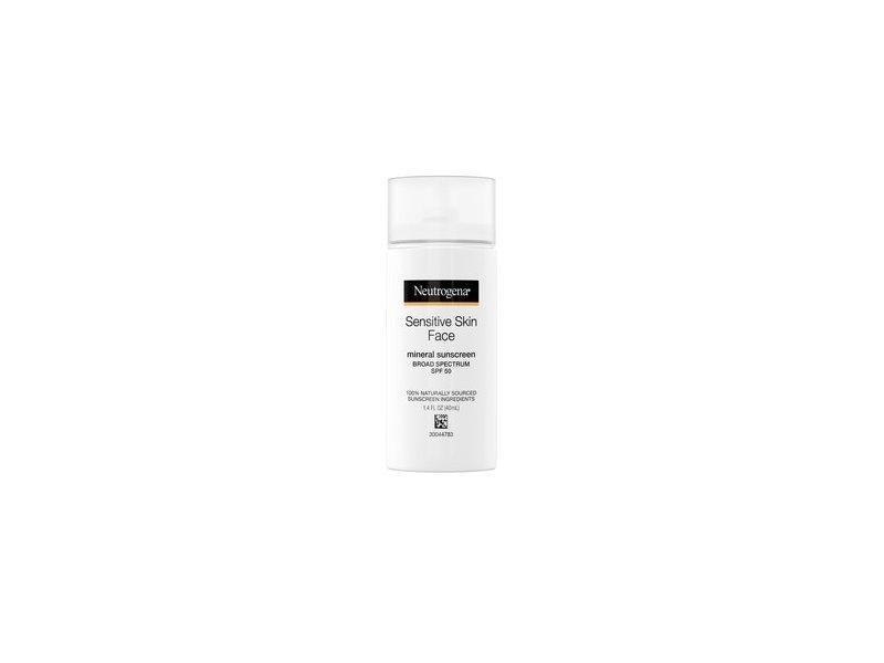 Neutrogena Face Sunscreen for Sensitive Skin SPF 50