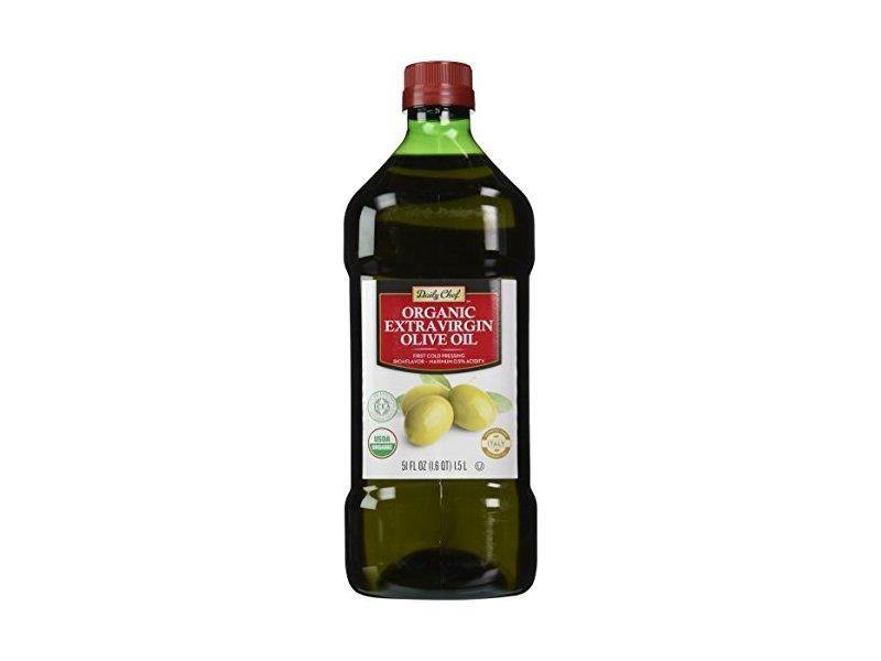 Daily Chef Organic Extra Virgin Olive Oil, 50.7 Fluid Ounce