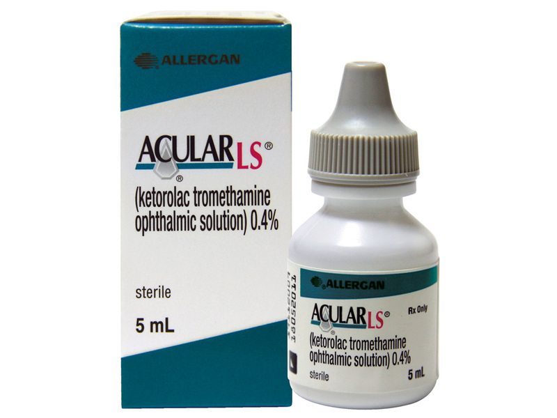 Acular LS 0.4% Ophthalmic Solution (RX) 5 ml, Allergan