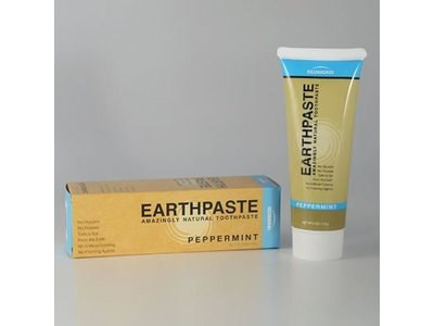 Redmond Life Earthpaste Amazingly Natural Toothpaste, Peppermint, 4 oz - Image 1
