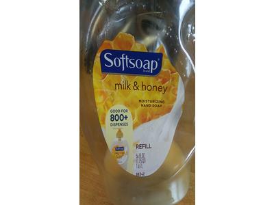 Softsoap Classics Milk and Honey Liquid Hand Soap Refill, 56 Fluid Ounce - Image 3