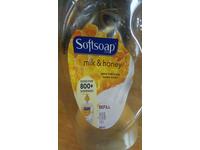 Softsoap Classics Milk and Honey Liquid Hand Soap Refill, 56 Fluid Ounce - Image 2