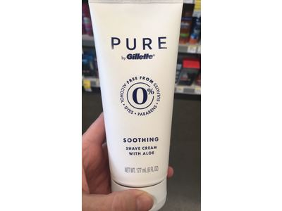 Gillette PURE Shaving Cream for Men, 6 oz - Image 3