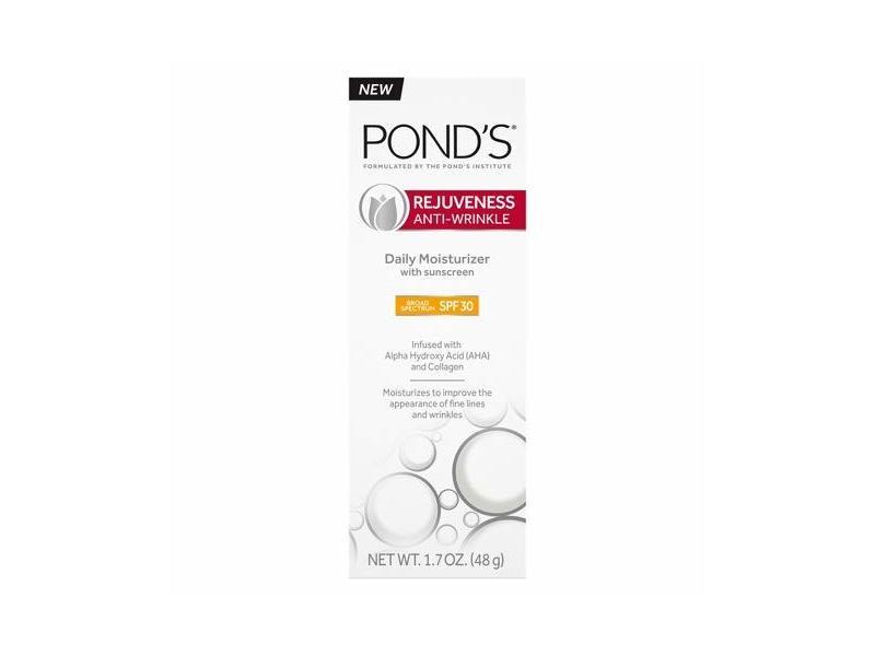 Pond's Anti-Wrinkle Rejuveness SPF 30 Daily Moisturizers, 1.7 oz