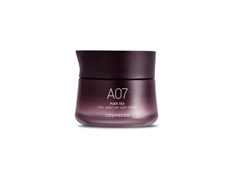 Cosmetea A07 Puer Tea Vital Moisture Deep Cream, 50 g