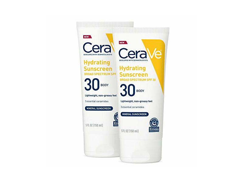 Cerave Hydrating Sunscreen Body SPF 30, 5 oz (Pack of 2)