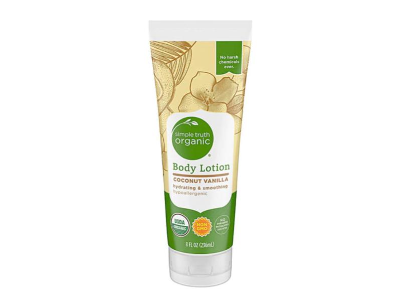 Simple Truth Organic Body Lotion, Coconut Vanilla, 8 fl oz