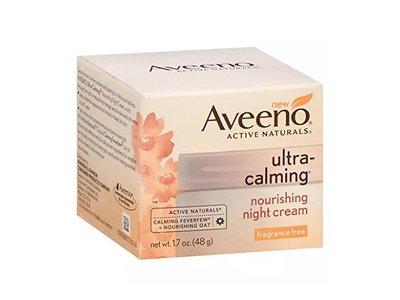 Aveeno Ultra Calming Nourishing Night Cream, 1.7 oz - Image 1