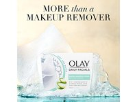 Olay Daily Sensitive Cleansing Cloths Tub with Aloe Extract Makeup Remover, 33 ct - Image 7