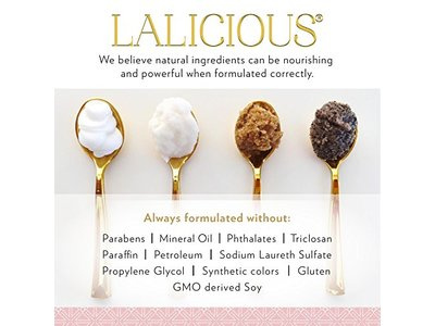 lalicious brown sugar vanilla hydrating body butter 8 oz