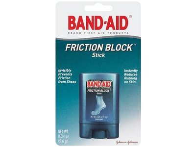 Johnson & Johnson Band-Aid Friction Block Stick, 0.34 Ounce (Pack of 4)