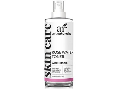 Artnaturals Rosewater Witch Hazel Toner Natural Anti Aging Pore