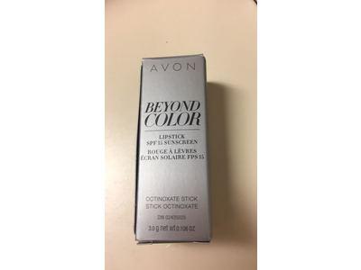 Avon Beyond Color Lipstick Spf 15 Sunscreen, Mad for Mauve, 0.106 oz - Image 4