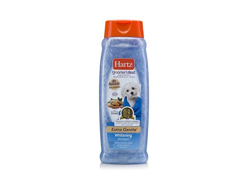 Hartz Groomer's Best Whitening Dog Shampoo, 18 oz