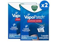 Vicks Vapopatch With Long Lasting Soothing Vapors, 5 Count - Image 2
