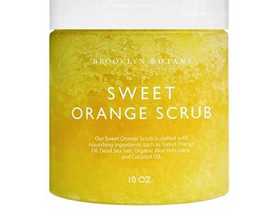 Brooklyn Botany Sweet Orange Body Scrub & Hand Scrub, 10 oz