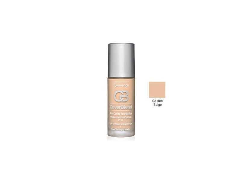 Exuviance Cover Blend Skin Caring Foundation, Golden Beige, 1 Ounce