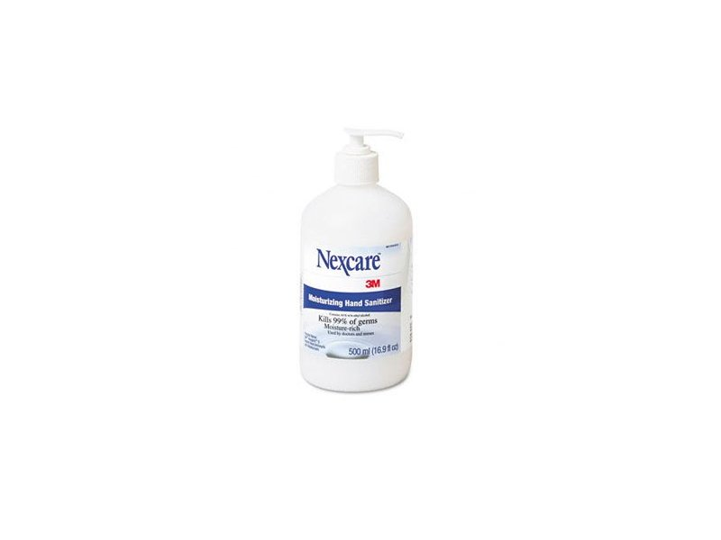 Nexcare 3M Moisturizing Hand Sanitizer, 16.9 fl oz