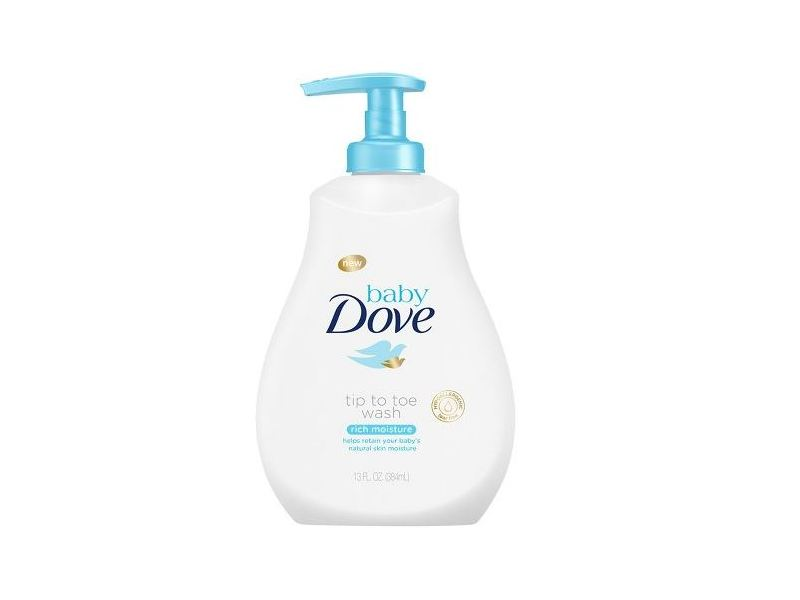 Baby Dove Tip To Toe Wash, 384 mL