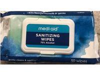 Mediaid Sanitizing Wipes, 50 Counts - Image 3