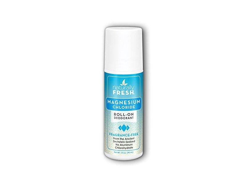 Zola Naturals Fragrance Free Magnesium Deodorant, 3 Ounce