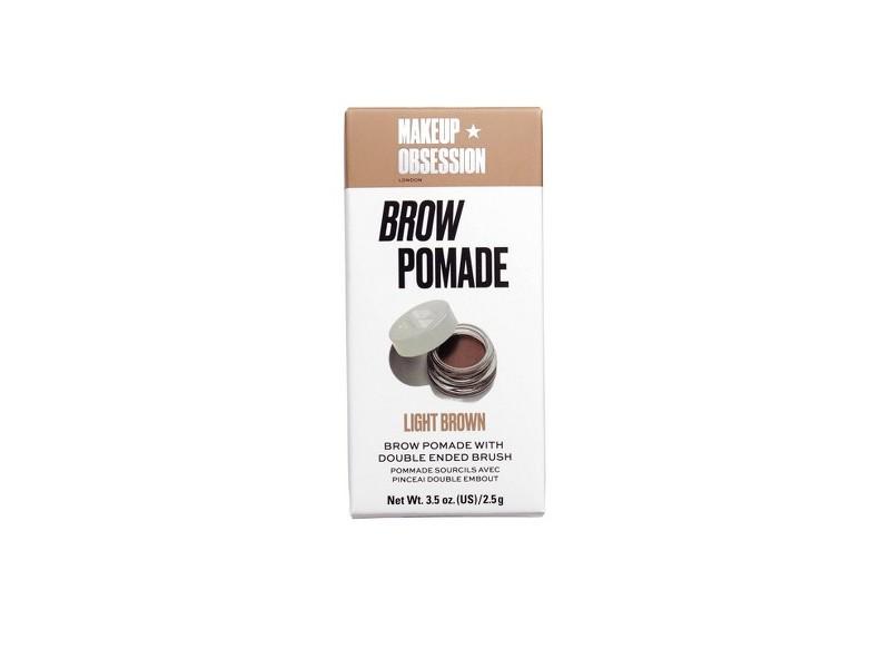 Makeup Obsession Brown Pomade Light Brown, 0.087 oz/2.5 g
